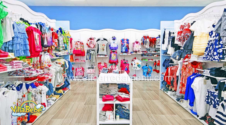 Arredamento negozio abbigliamento calzature giocattoli for Arredamento bambini