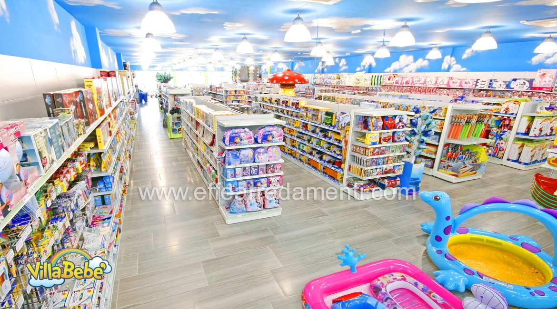 Arredamento negozio abbigliamento calzature giocattoli for Negozi arredamento salerno