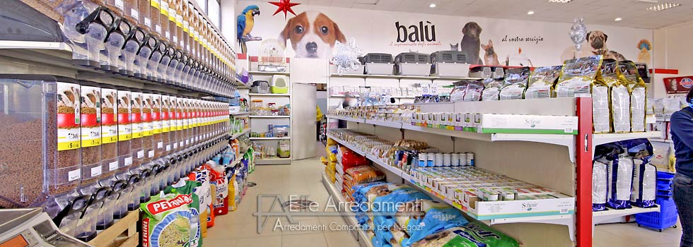 Arredamenti negozi animali roma for Arredamento negozi roma