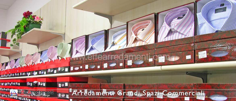 Arredamento grandi spazi commerciali e g d o effe for Grandi magazzini arredamento