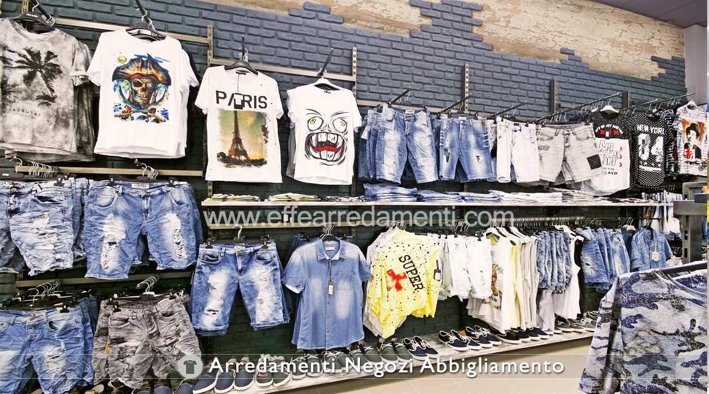 ... Allestimenti per Negozi di Abbigliamento donna, uomo e bambino