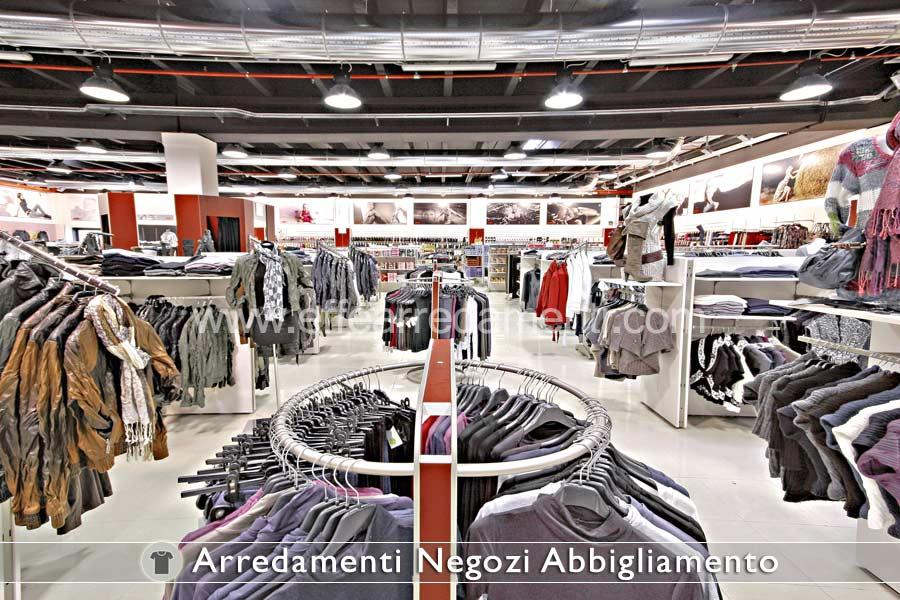 Arredamento negozi abbigliamento effe arredamenti for Primo arredamenti