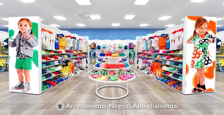 Arredamento negozi abbigliamento effe arredamenti for Montaggio arredamenti negozi