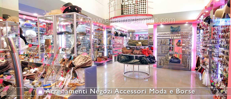 Arredamenti e allestimenti negozi accessori moda e borse for Arredamenti per negozi di gastronomia
