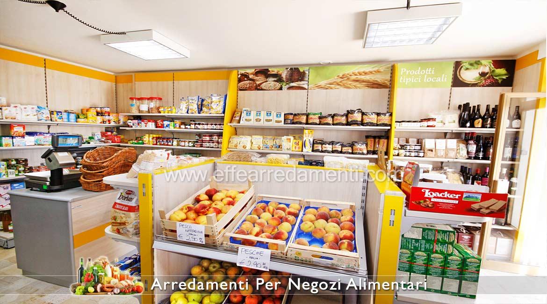 arredamento per negozi alimentari prodotti tipici effe