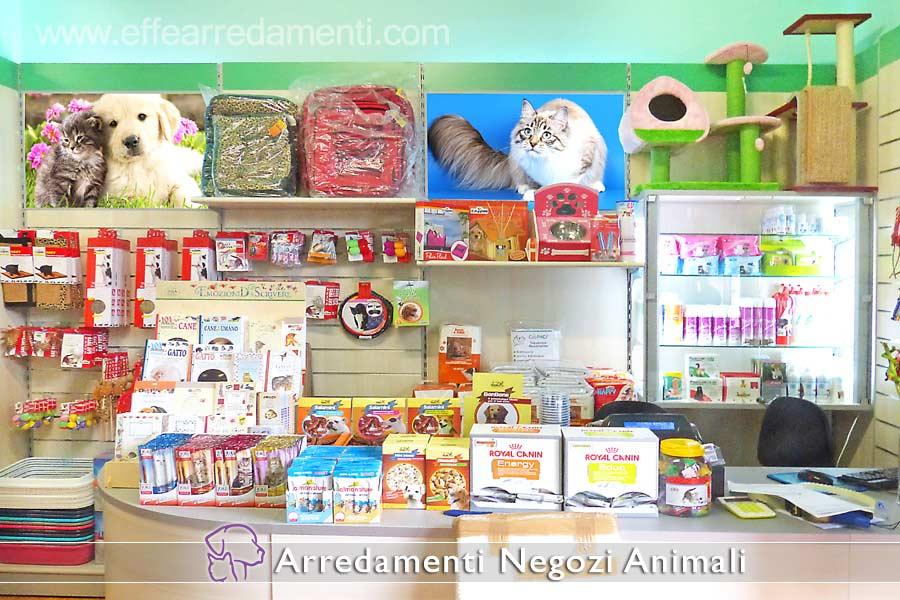Arredamento negozi prodotti animali effe arredamenti for Negozi mobili torino