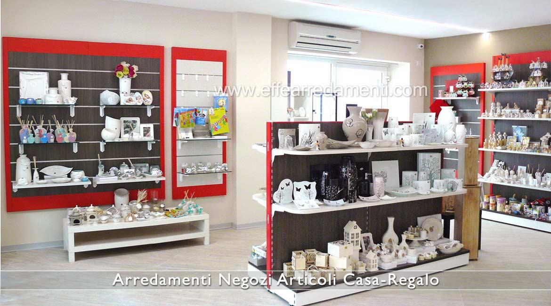 Arredamento negozi articoli da regalo effe arredamenti for Oggettistica casa