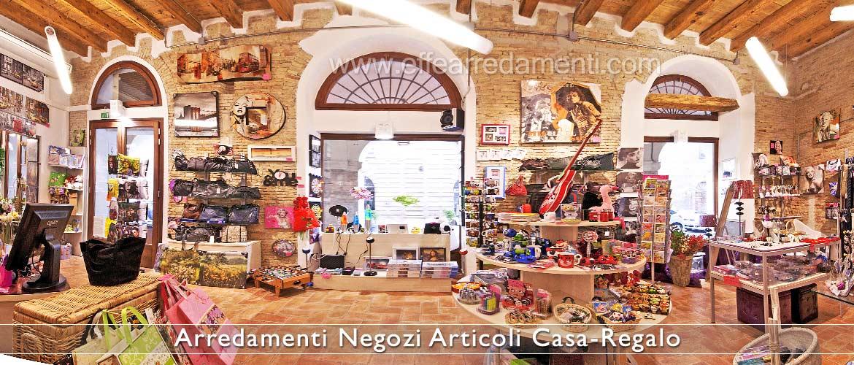 Arredamento negozi articoli da regalo effe arredamenti for Negozi arredamento pesaro