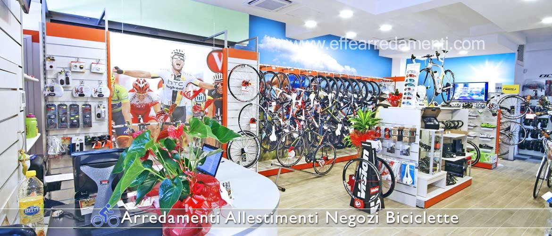 Arredamento negozi biciclette effe arredamenti for Negozi arredamento roma centro