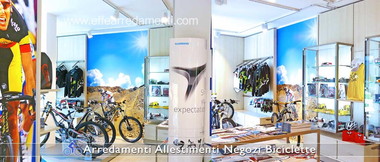 Arredamento negozi biciclette effe arredamenti for Negozi di arredamento a tenerife