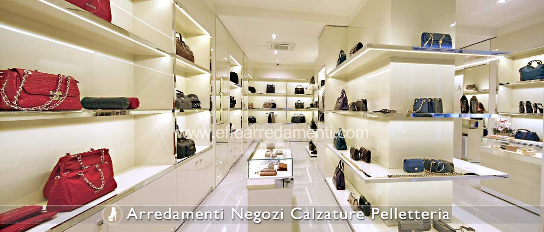 Arredamento negozi calzature effe arredamenti for Negozi mobili