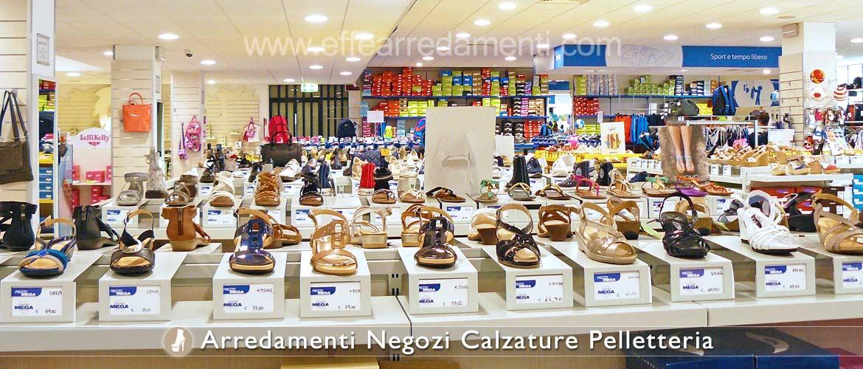 Arredamenti e allestimenti completi per negozi di Calzature Scarpe e ...