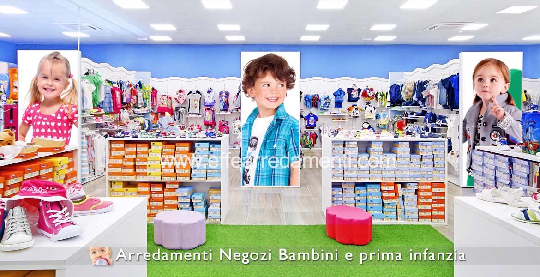 Arredamento negozi per bambini effe arredamenti for Arredamenti per negozi abbigliamento