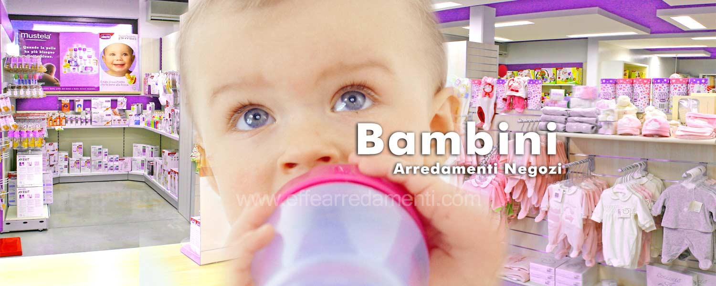 Arredamento negozi per bambini effe arredamenti for Arredamenti per bambini