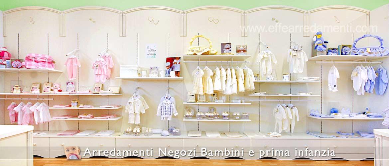 Arredamento Negozi per Bambini - Effe Arredamenti