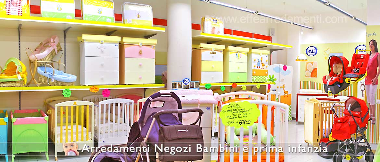 Arredamento negozi per bambini effe arredamenti for Lettini per bambini