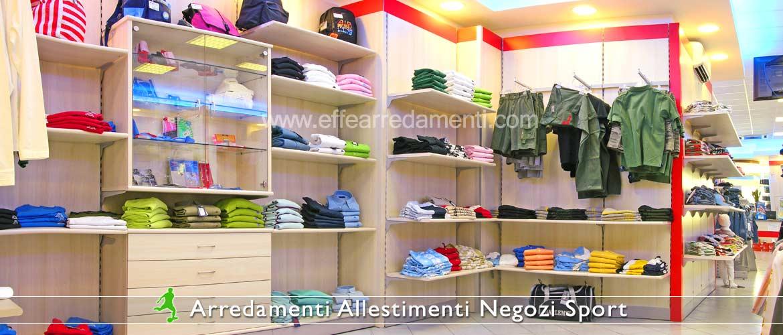 Arredamento negozi sportivi effe arredamenti for Fucili arredamenti