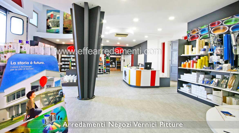 Arredamento negozi vernici pitture colorifici effe for Pannelli arredo negozi