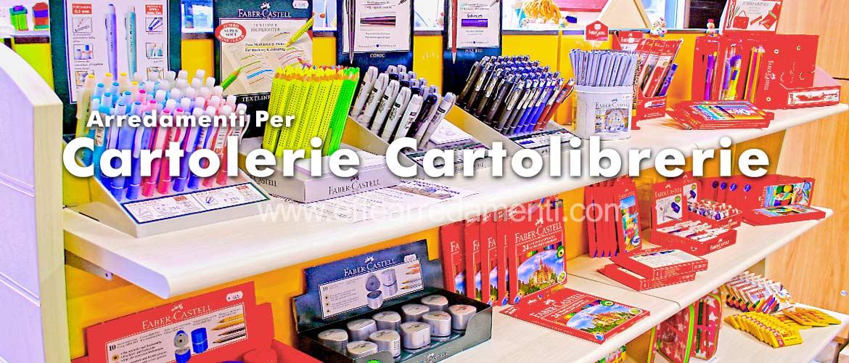 Arredamento cartolerie e cartolibrerie effe arredamenti - Banconi per negozi ikea ...