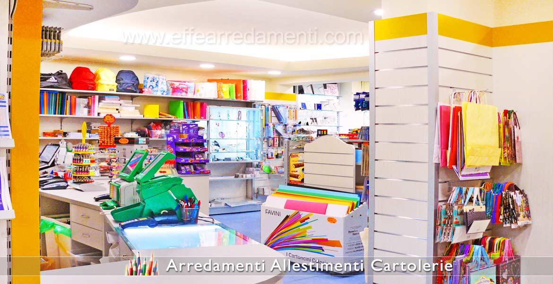 Arredamento cartolerie e cartolibrerie effe arredamenti for Arredo negozi rimini