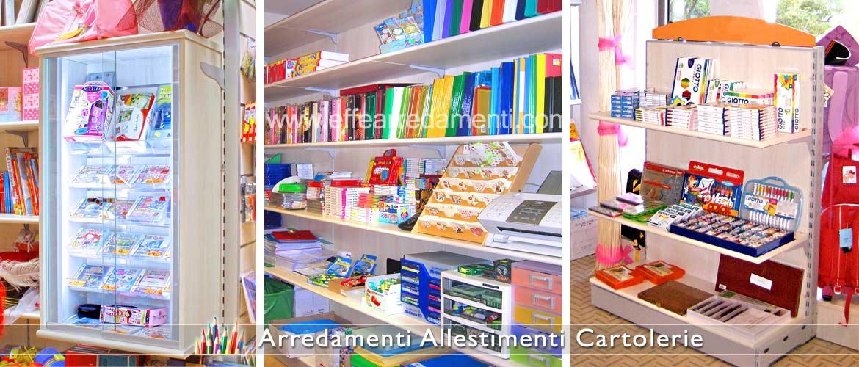 Arredamento cartolerie e cartolibrerie effe arredamenti for Fi ma arredamenti srl