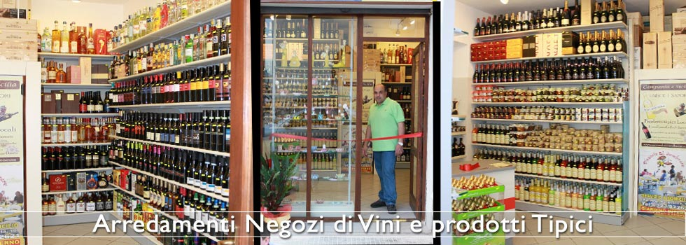 Arredamento enoteche e negozi di vini effe arredamenti for Arredamento enoteca usato