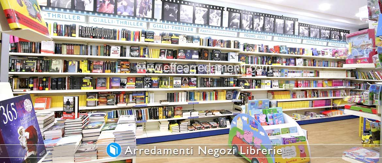 Arredamento negozi di libri effe arredamenti for Libri vendita