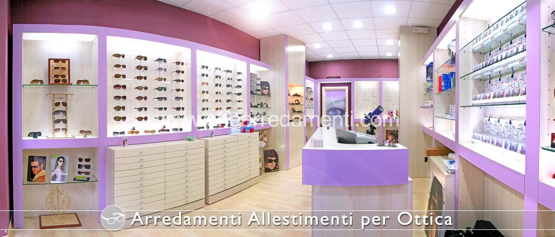 arredamento ottica e occhiali effe arredamenti