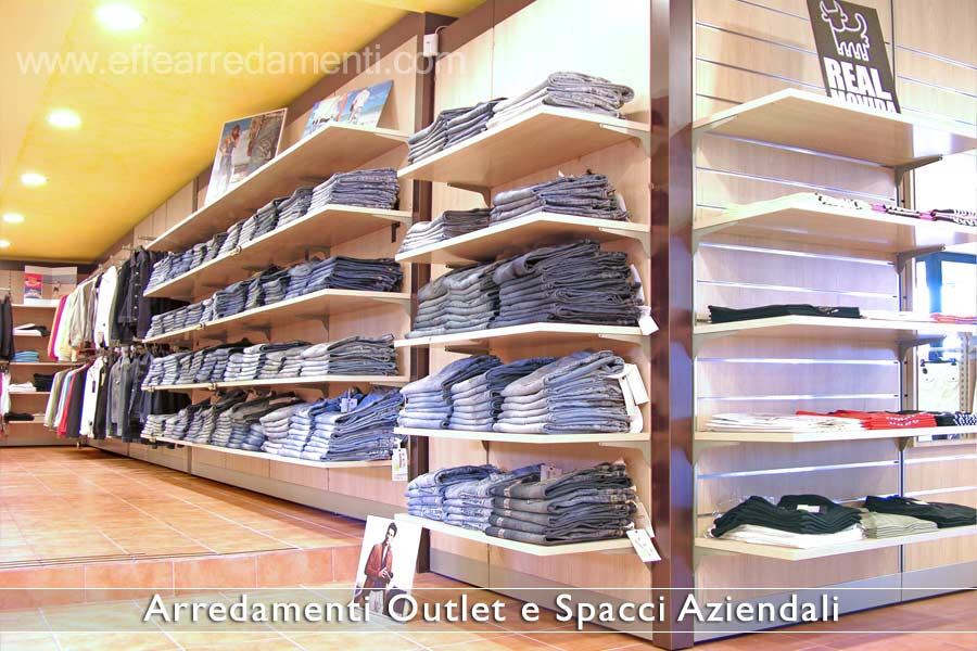 Arredamento outlet e spacci aziendali effe arredamenti for Arredamento outlet