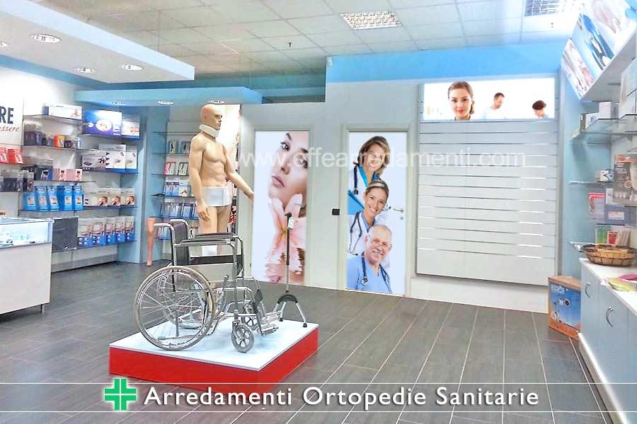 Arredamento farmacie parafarmacie sanitarie ortopedie for Arredamenti per parafarmacie