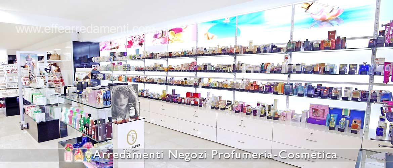 Arredamento profumerie e cosmetica effe arredamenti for Arredo profumeria