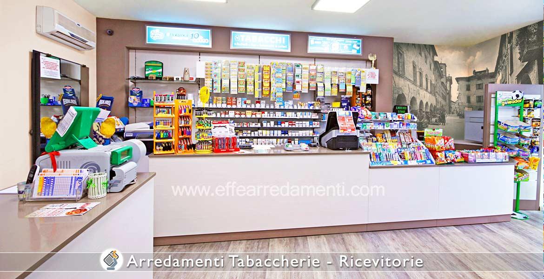Arredamento tabaccherie ricevitorie effe arredamenti for Arredamenti per bar tabacchi