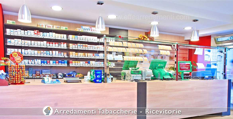 Arredamento tabaccherie ricevitorie effe arredamenti for Primo piano arredamento