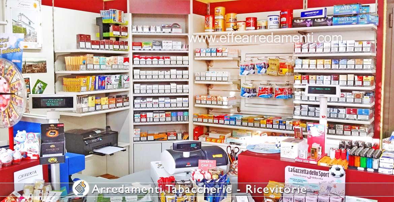 Arredamento tabaccherie ricevitorie effe arredamenti for Arredamenti per negozi usati seminuovi