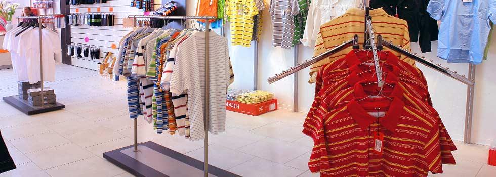 Gondole per negozi effe arredamenti for Scaffali a gondola