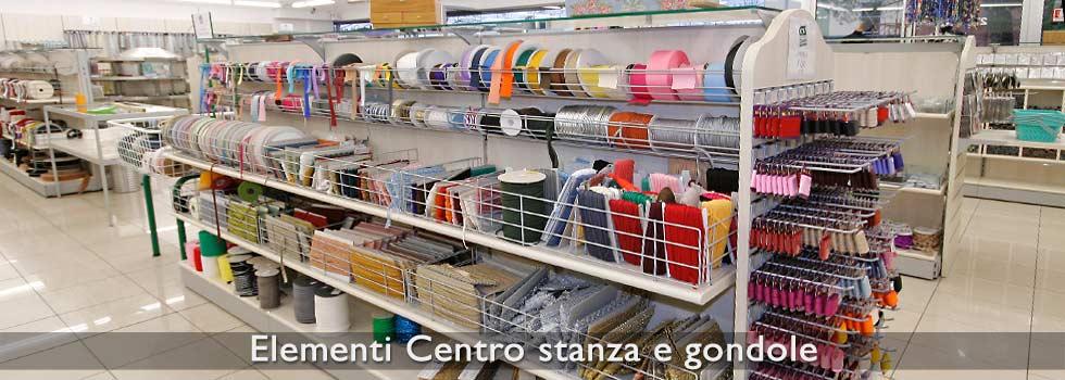 Gondole per negozi effe arredamenti for Arredamento merceria