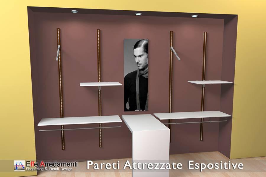 Pareti Attrezzate Moderne Per Negozi: Pareti mobili per negozi bar ristoranti paxton.
