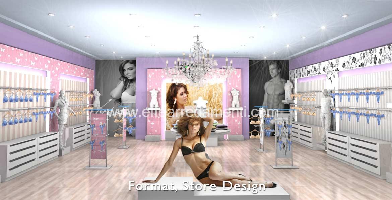Arredamenti e allestimenti franchising e concept store for Arredo store
