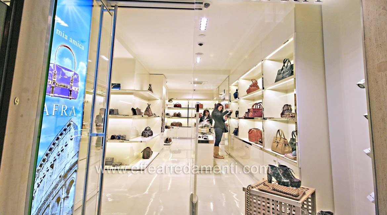 arredamento negozio roma: calzature e borse - effe ...