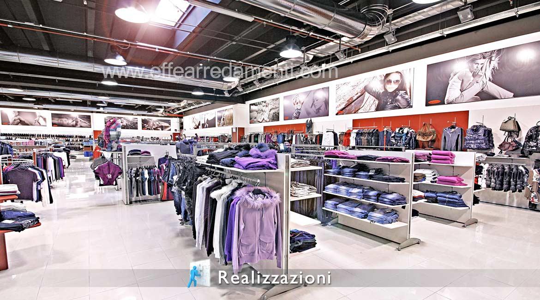 Réalisations Décorations de magasins de meubles