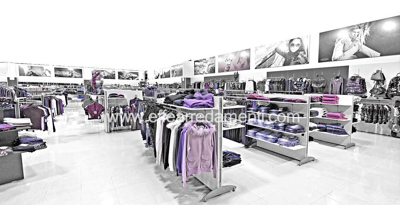 Arredamenti per negozi e allestimento spazi commerciali for Effe arredamenti