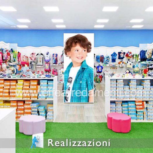 Realizzazioni arredamenti negozi