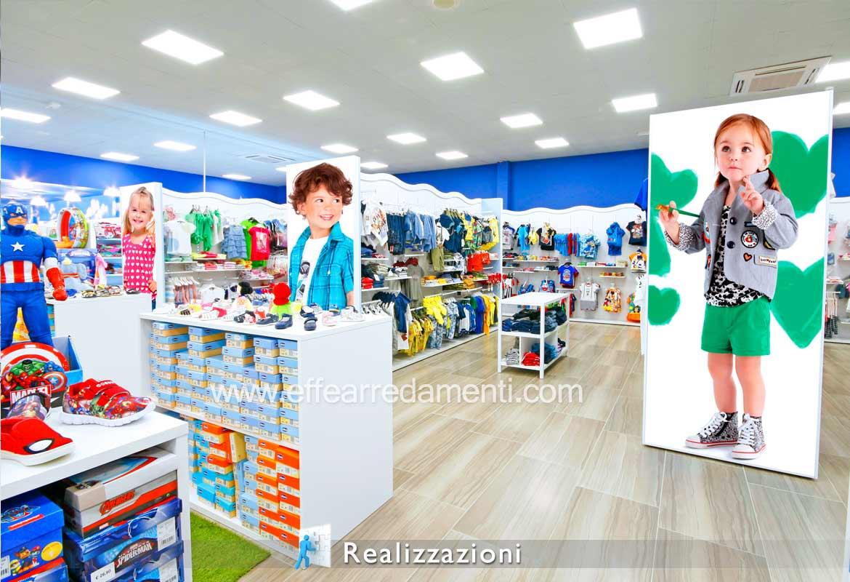Come Arredare un negozio per bambini esempi idee soluzioni adottate
