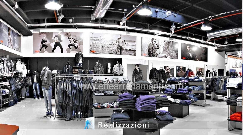 Réalisations Mobilier Magasins Vêtements