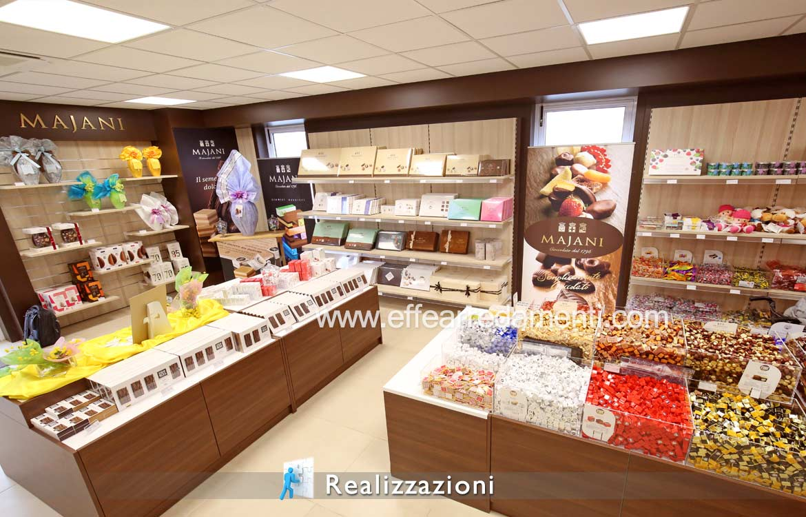 Solution Furniture Store of dociumi, candies and chocolate
