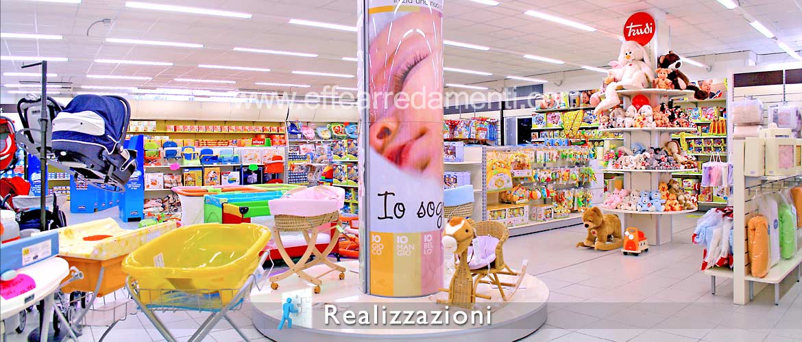 Realizations furnishing shops - Children