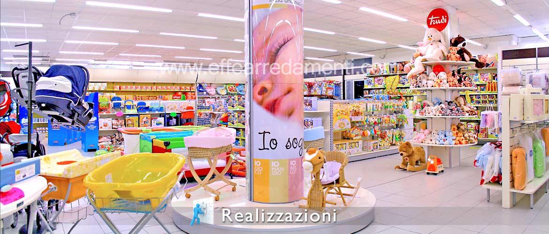 Realizzazioni arredamenti negozi - Bambini