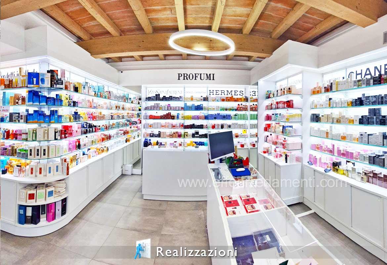 Esempio idea Design Profumeria Realizzazione Modena