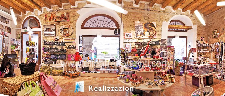 Realizzazioni arredamenti negozi - Articoli da Regalo