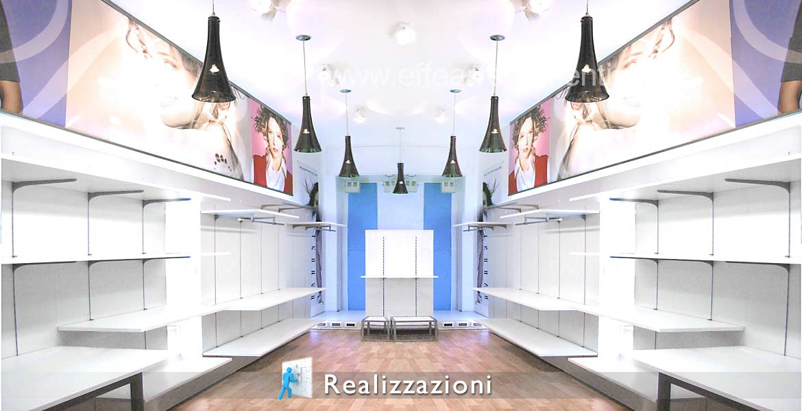 Realizations furnitures shops - Clothing